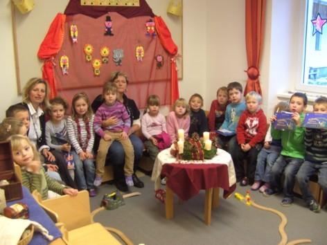 Besuch im Kindergarten 21.12.11