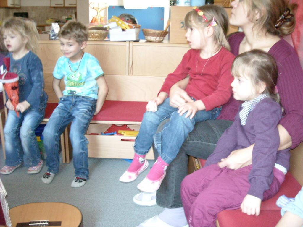 Lesung im Kindergarten Kleinreifling 13.12.2011
