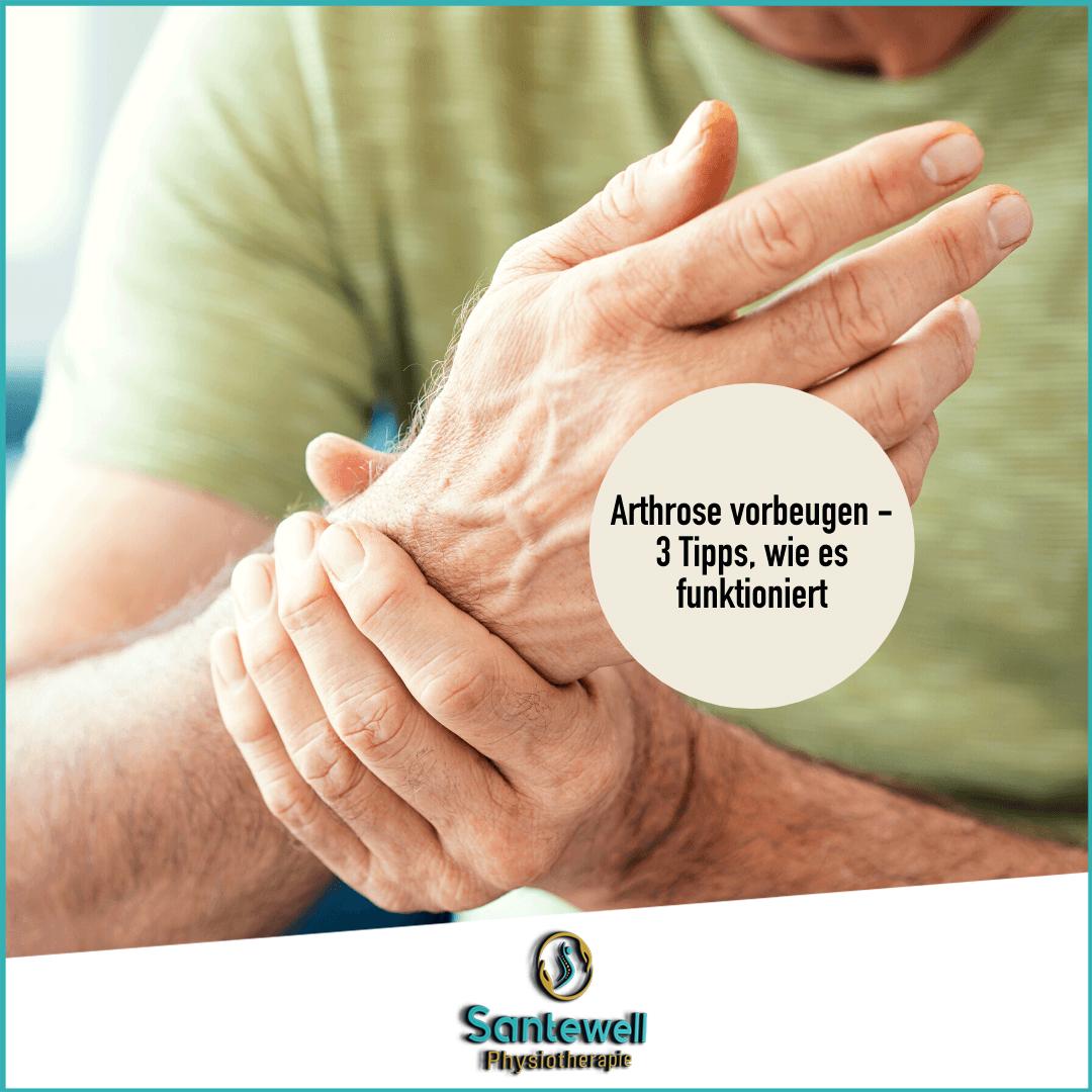 Arthrose- Schmerzen heilen!