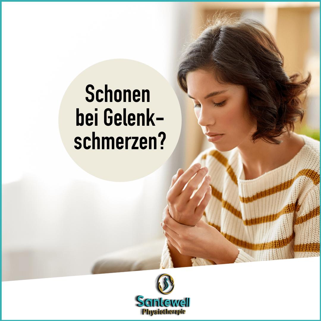 Bei Gelenkschmerzen schonen oder Sport machen? Physiopraxis Santewell Basel klärt auf!