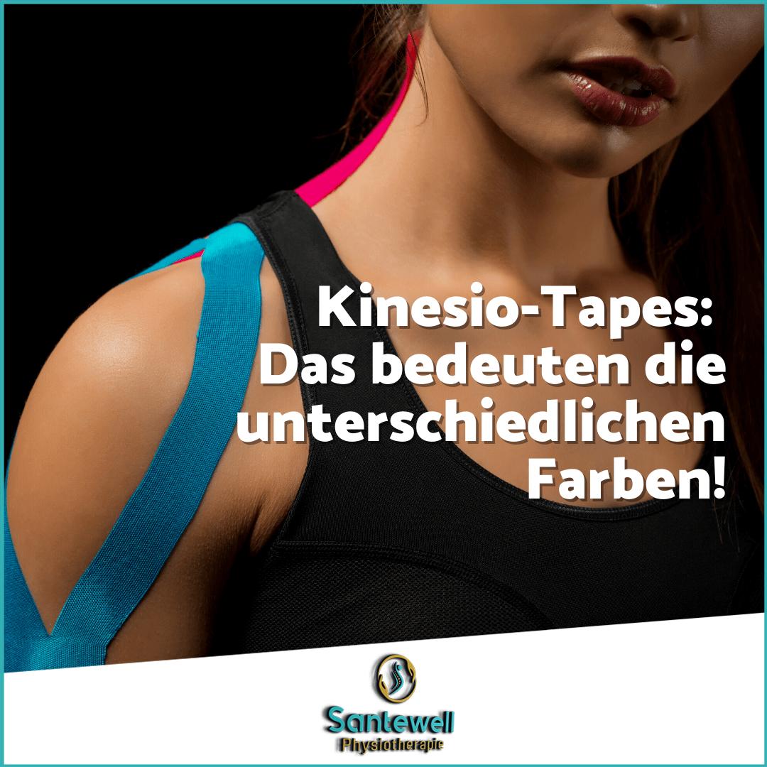 Kinesiotaping! Warum hilft es so und was bedeuten die Farben? Santewell in Basel erklärt!