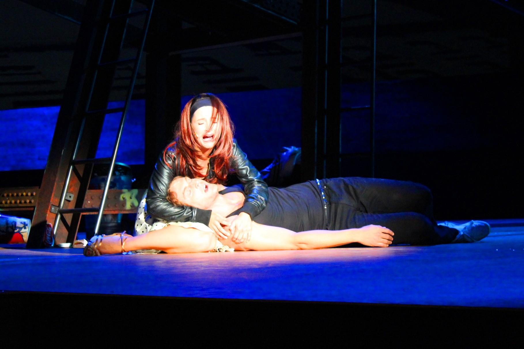 Maria - West Side Story - 2014/15 am Stadttheater Bremerhaven - Kostüm: Siegfried E. Mayer, Maske: Henrik Pecher