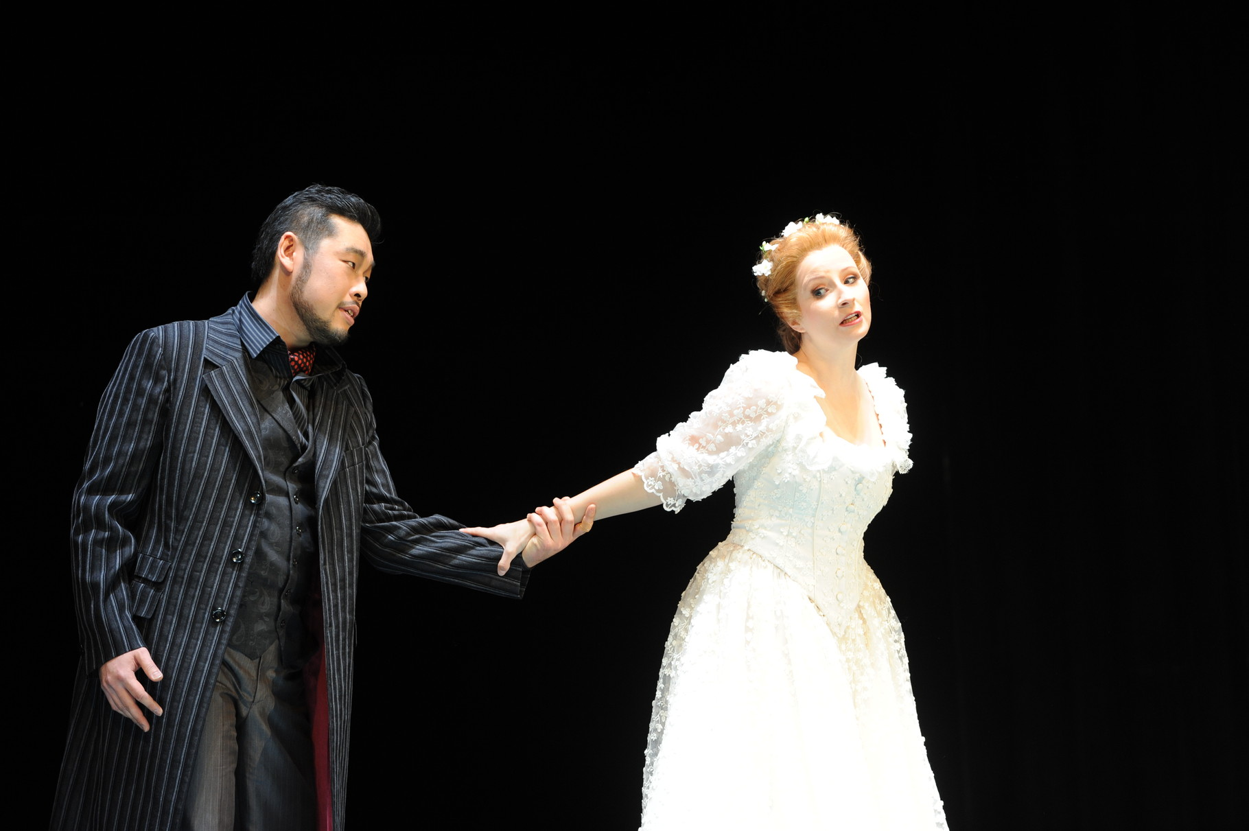 Zerlina - Don Giovanni - 2012/13 am Stadttheater Bremerhaven - Kostüm: Johannes Haufe, Maske: Henrik Pecher