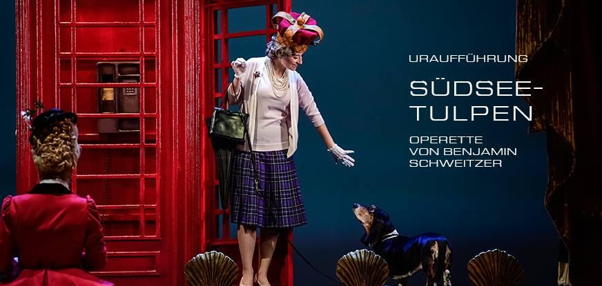 Südseetulpen von Benjamin Schweitzer - Partie: Queen Ann - Kostüme: Ingeborg, Maske: Nadine Wagner