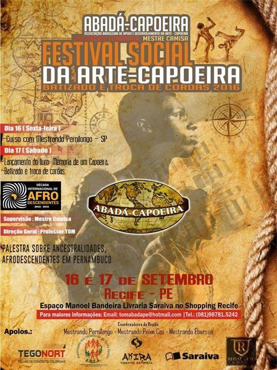Festival Social Abada Capoeira- PE