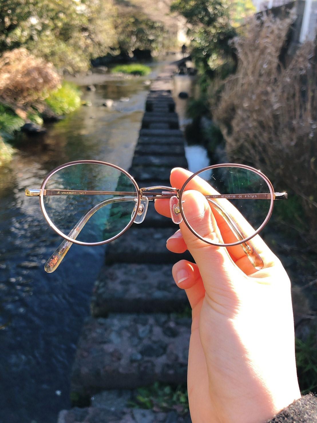 三島のメガネ