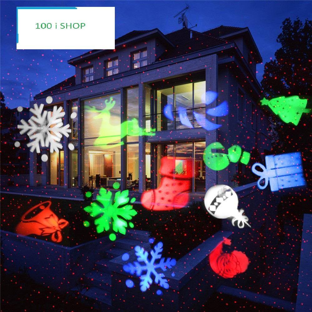 Weihnachts Laser Glocke , Kugel Usw. Wasserdicht/Schneefest Mit  Fernbedienung