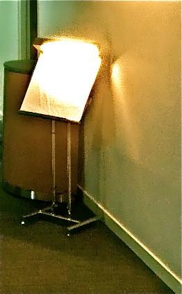 照明サインスタンド ステンレス