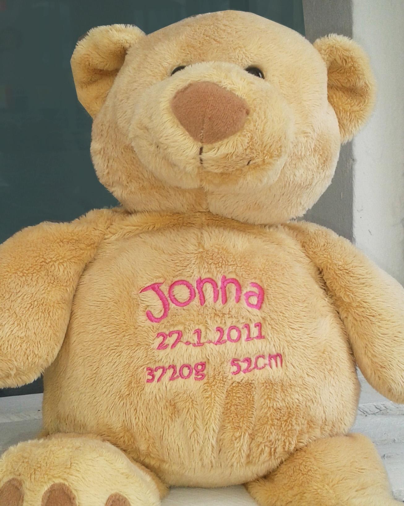 Teddy mit Bestickung