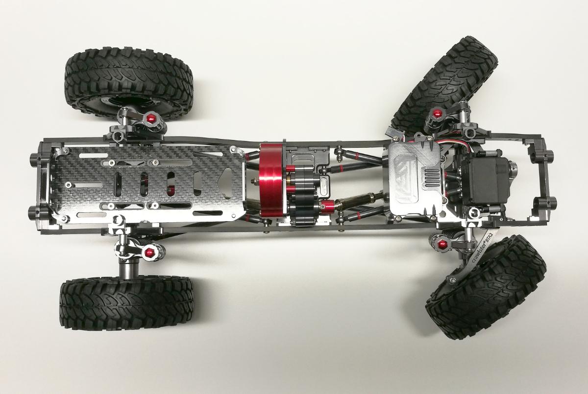...inkl. crawlster®BTA2-TFL LenkSystem