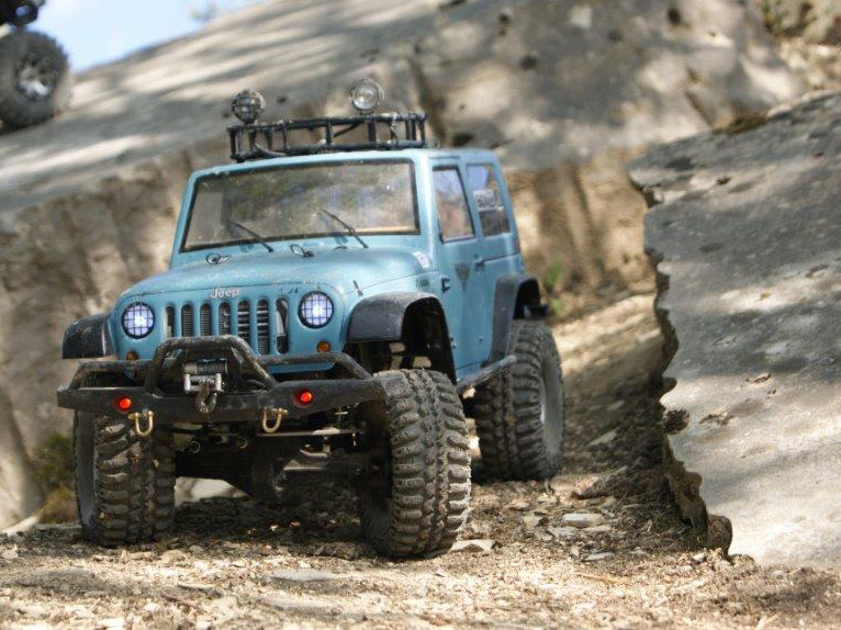 On the rocks  |  Martins Wrangler SCX10