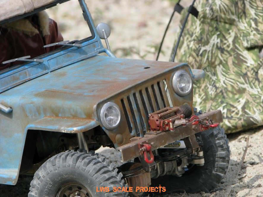 LWB SCALE PROJECTS  |  crawlster®4S in Wolfs WILLYS CJ3A