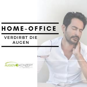 Home Office verdirbt die Augen - was Sie dagegen tun können!