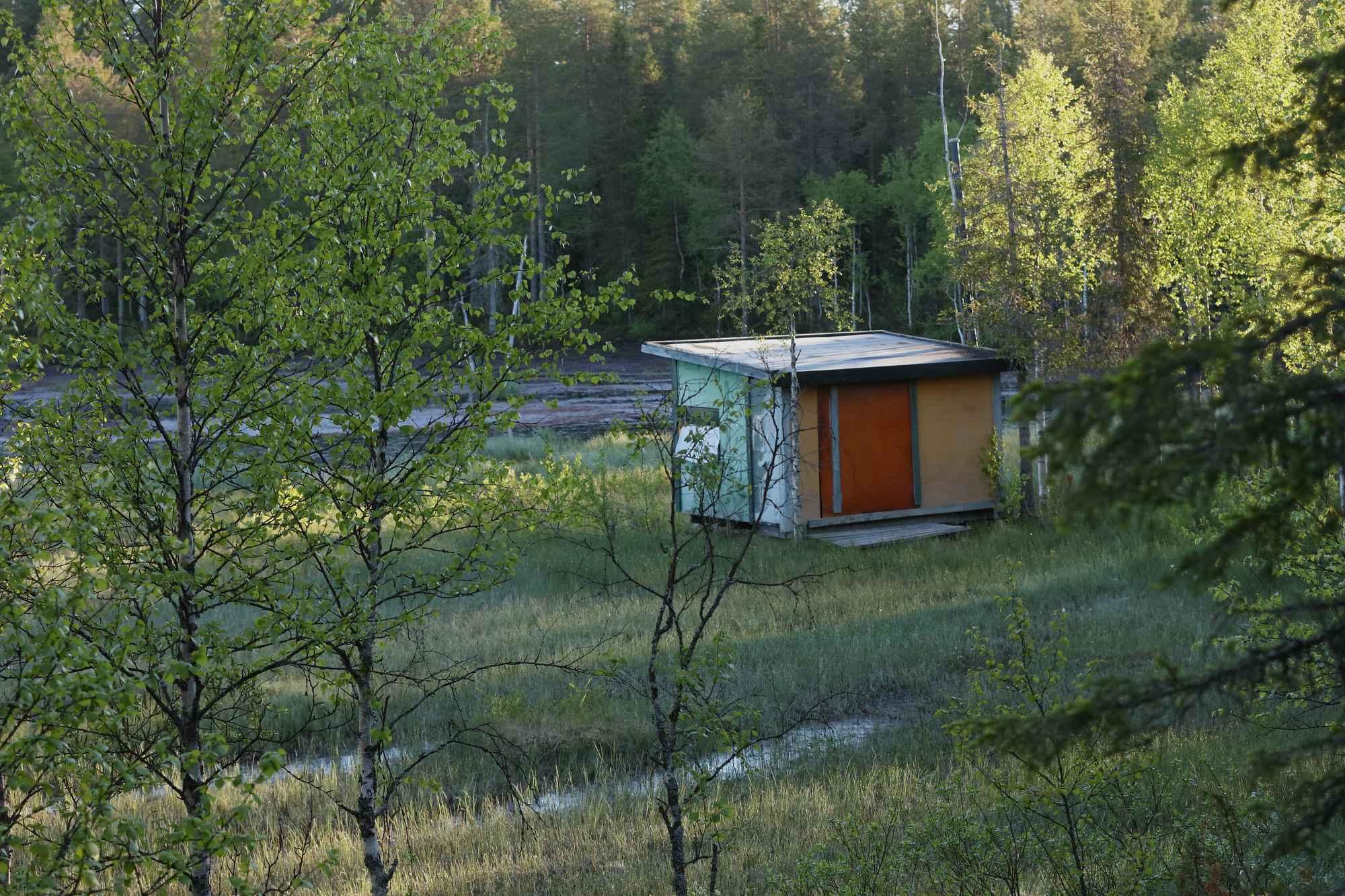 Unsere Ansitzhütte