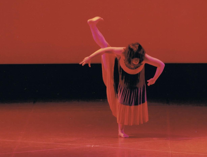 ゆか25才 -ソロ作品を、広島のバレエ教室で踊った時の写真