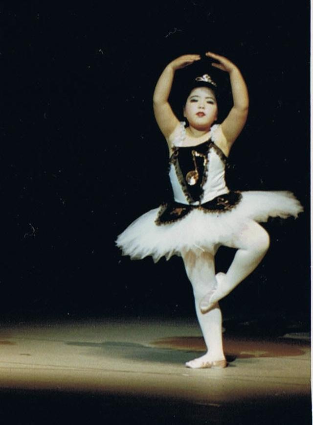 ゆか5才-バレエ歴2年、2回目のバレエの発表会