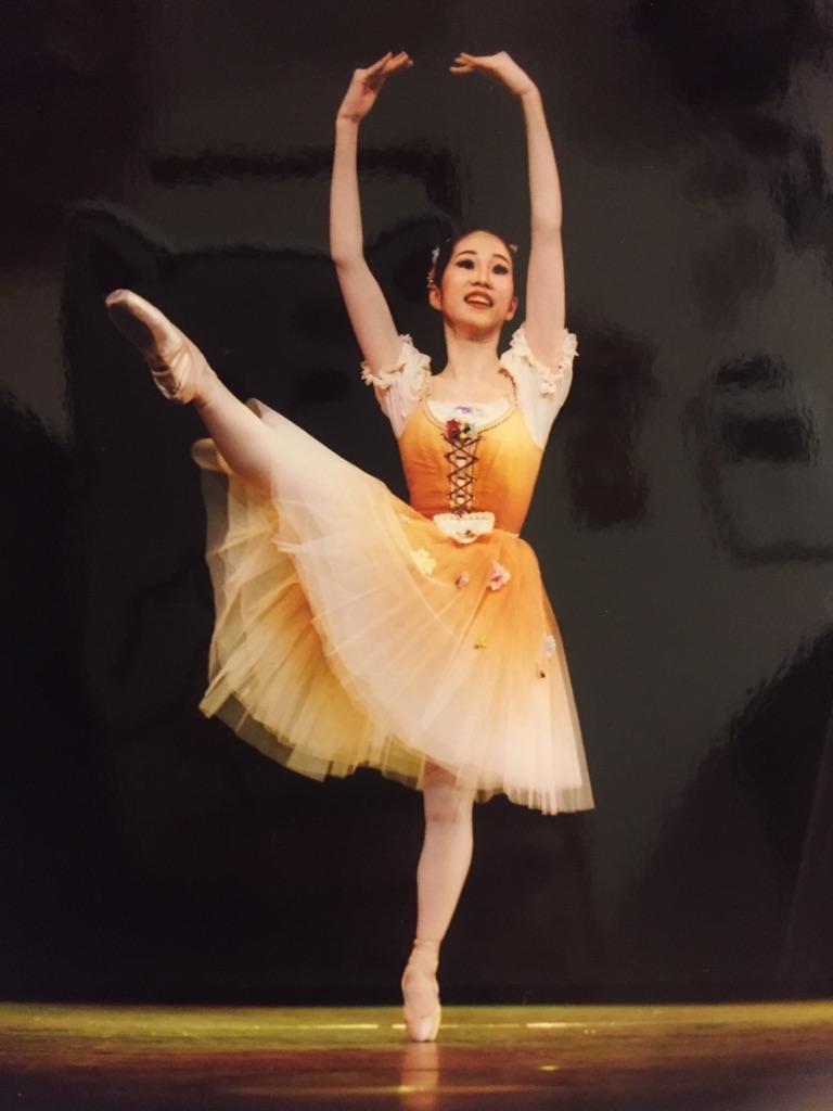 さち14歳ー初のバレエコンクール