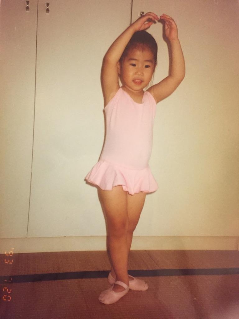 さち3歳ーバレエ歴約半年