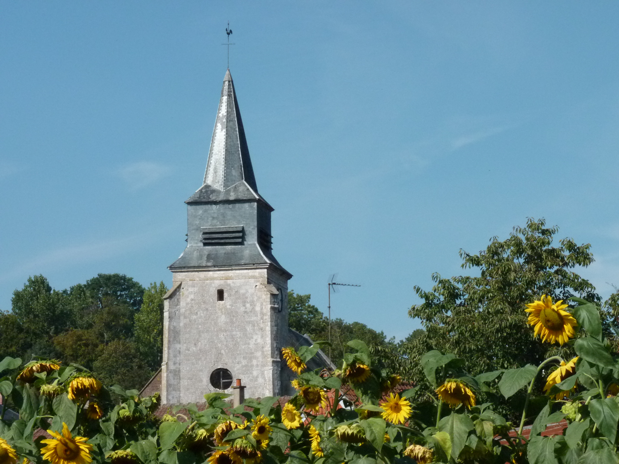 L'église de Barly