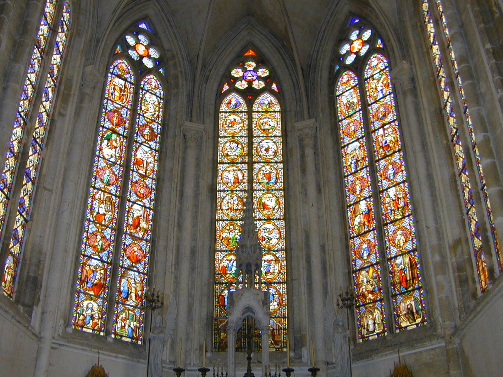 Vitraux de l'église de Terramesnil