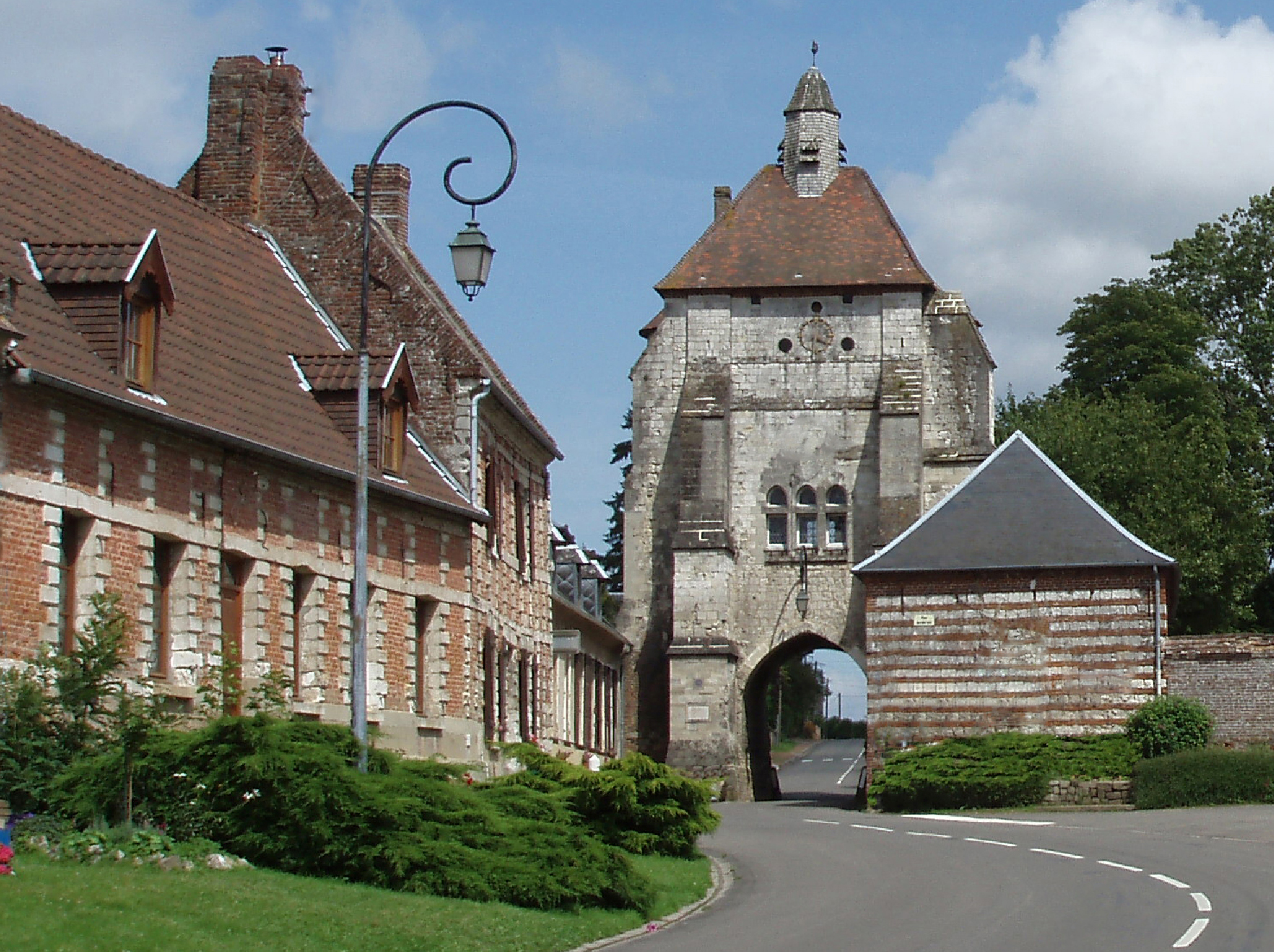 Beffroi de Lucheux - labellisé UNESCO