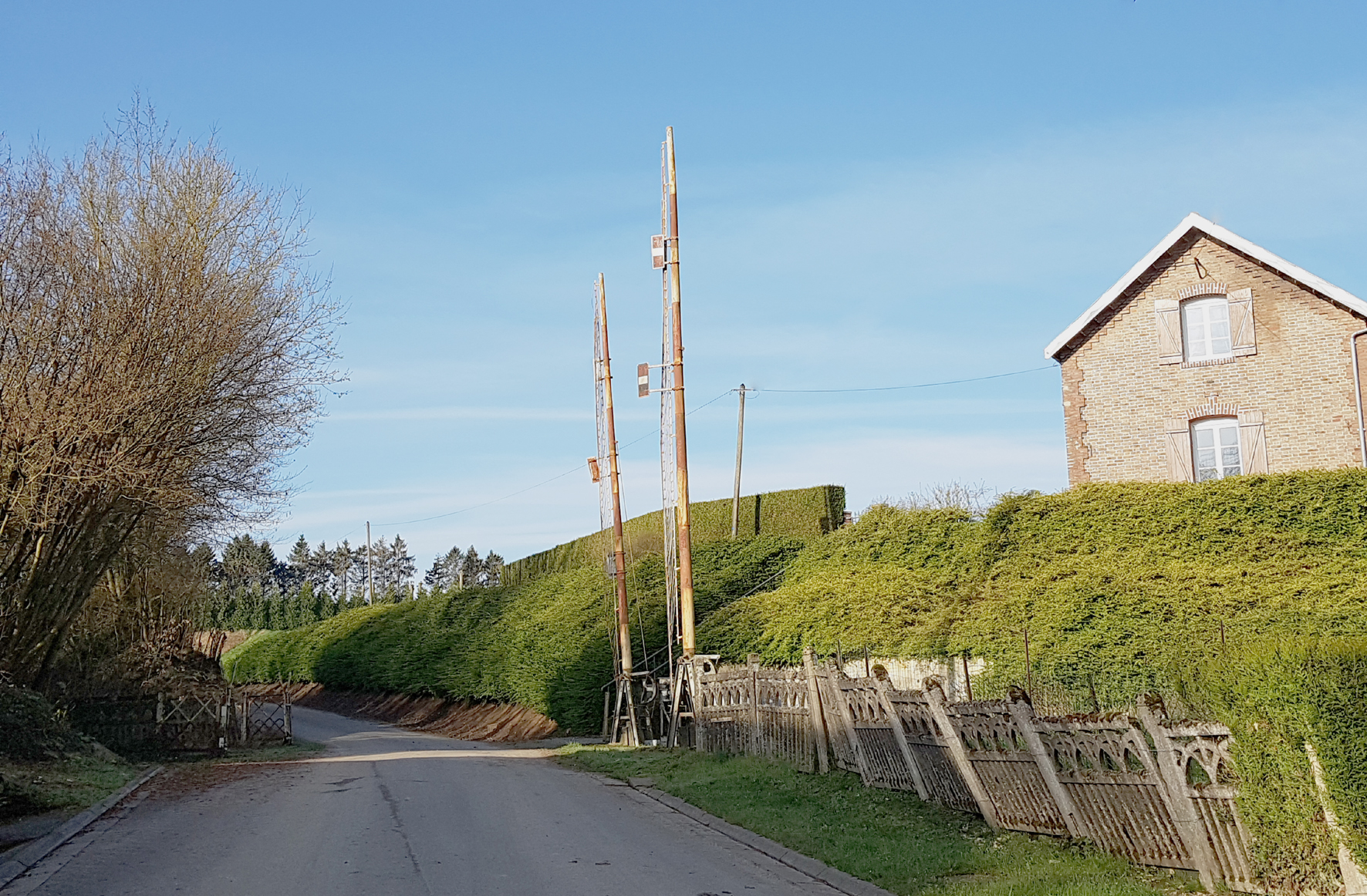 Ancienne gare de Gézaincourt