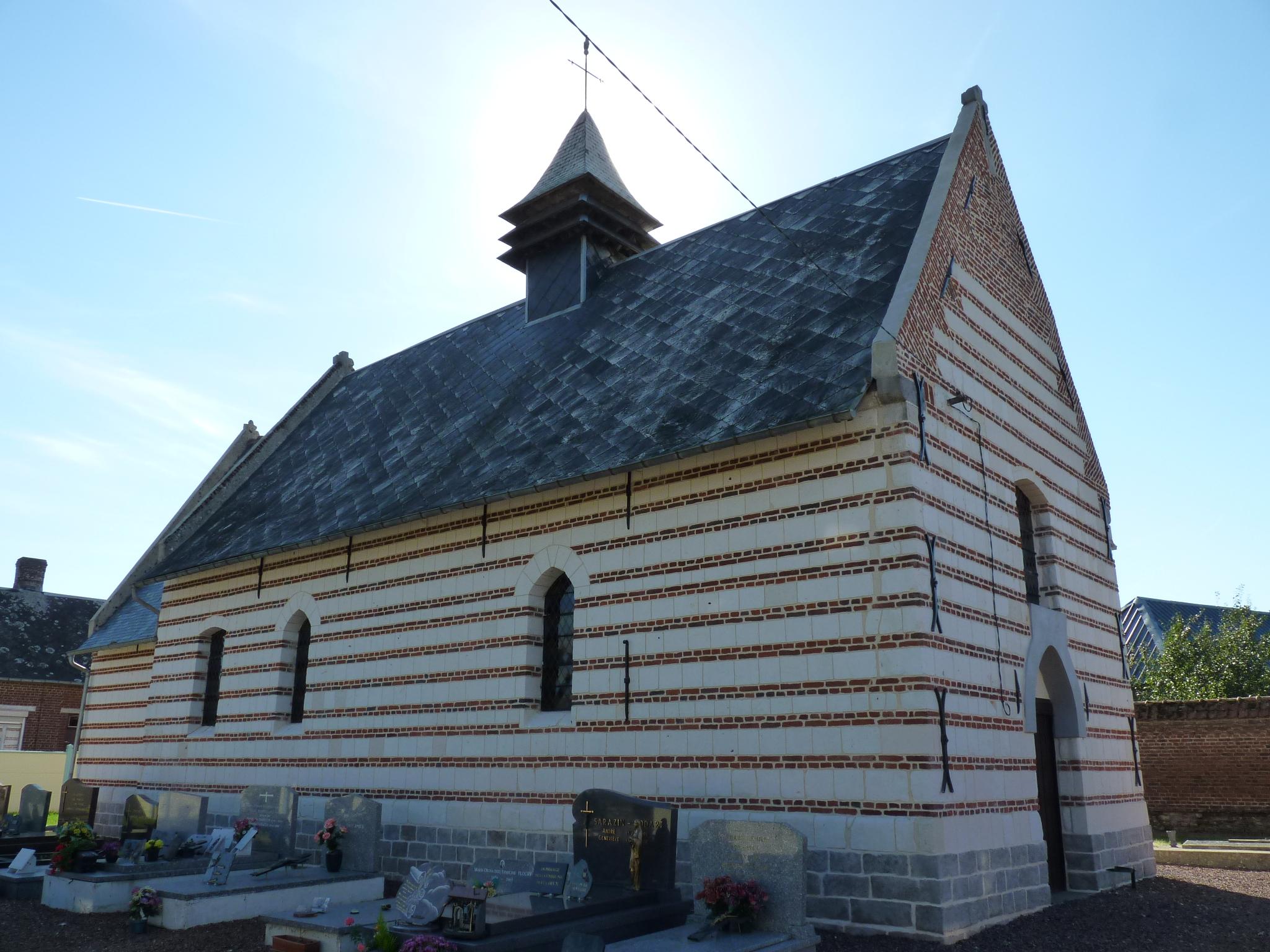 L'église de Brévillers