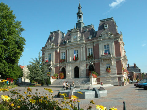 The town hall of Doullens