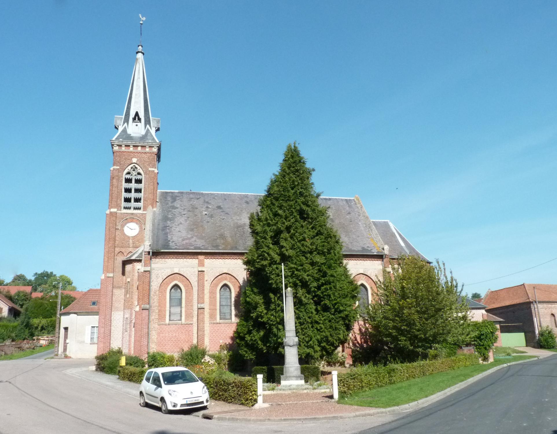L'église d'Occoches