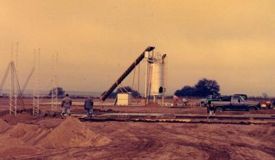 Usine Blu Karb en Argentine pour la production de charbon de bois