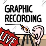 Graphic Recording hält das Gehörte verdichtet fest - In Wort und Bild
