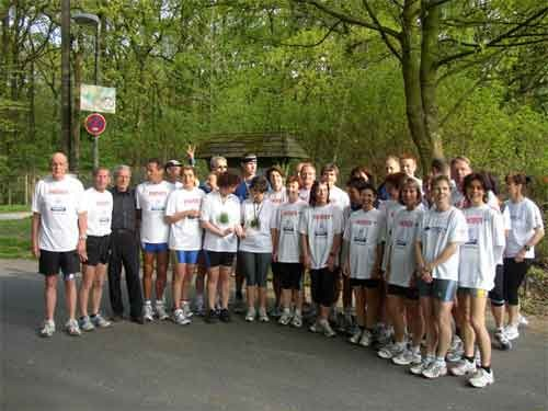 Teilnehmer Ruhrmarathon 2004