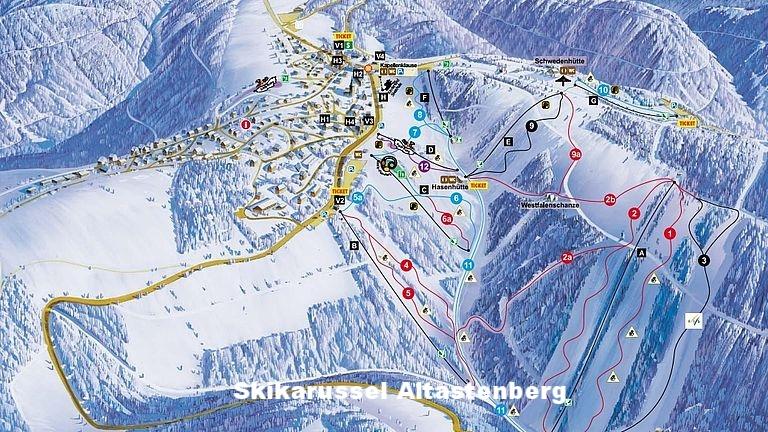 Skikarussel Winterberg OT Altastenberg