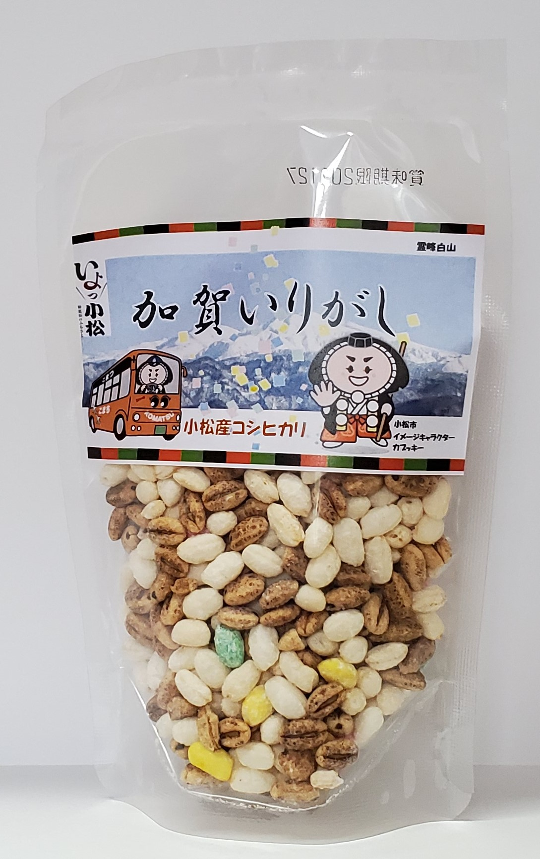 大麦・三色白米(20g)…小松市産六条大麦と三色白米がミックスされています。