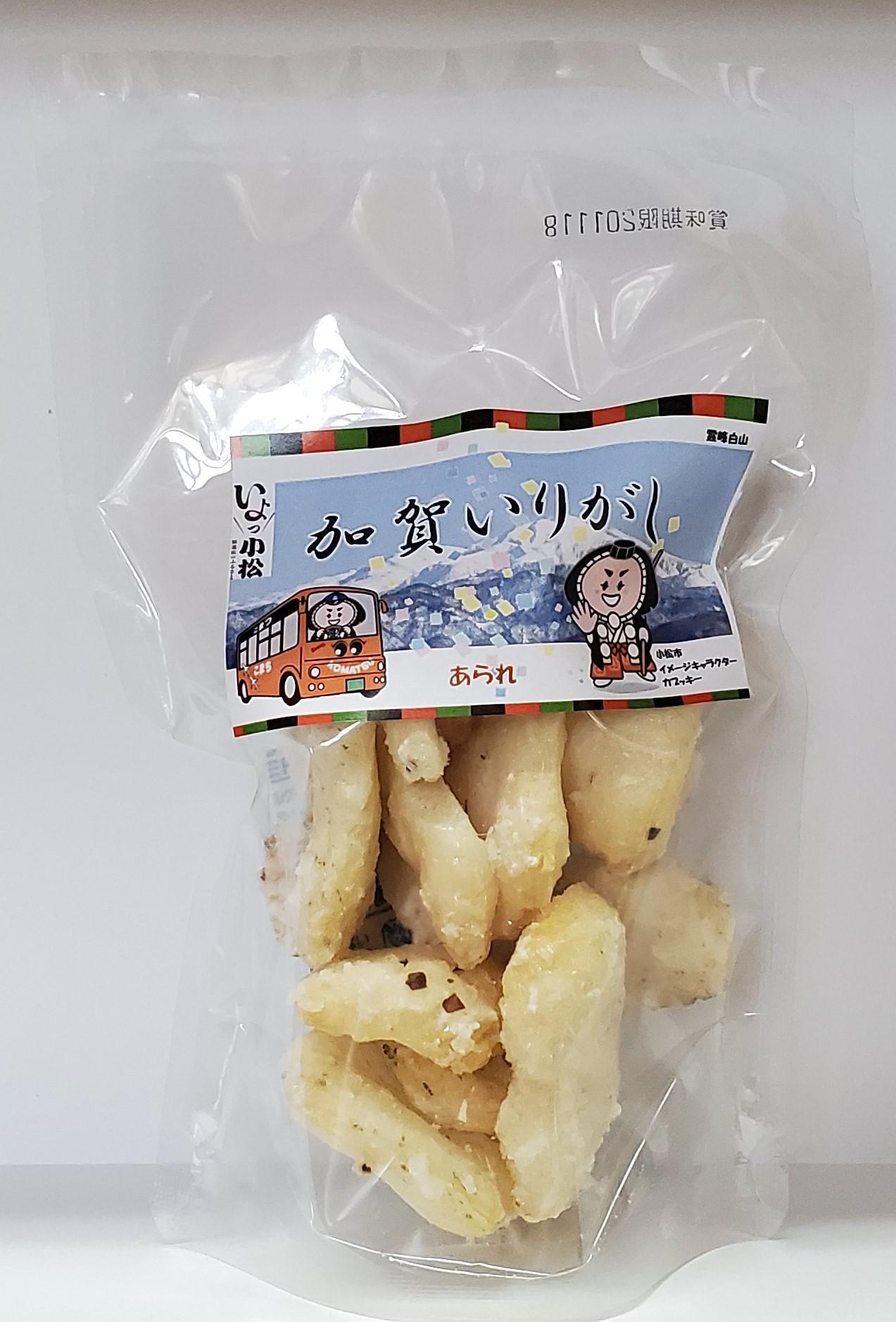 あられ(25g)とあられ生姜味(25g)…お餅をはじいたあられ。油であげていないのでヘルシー!