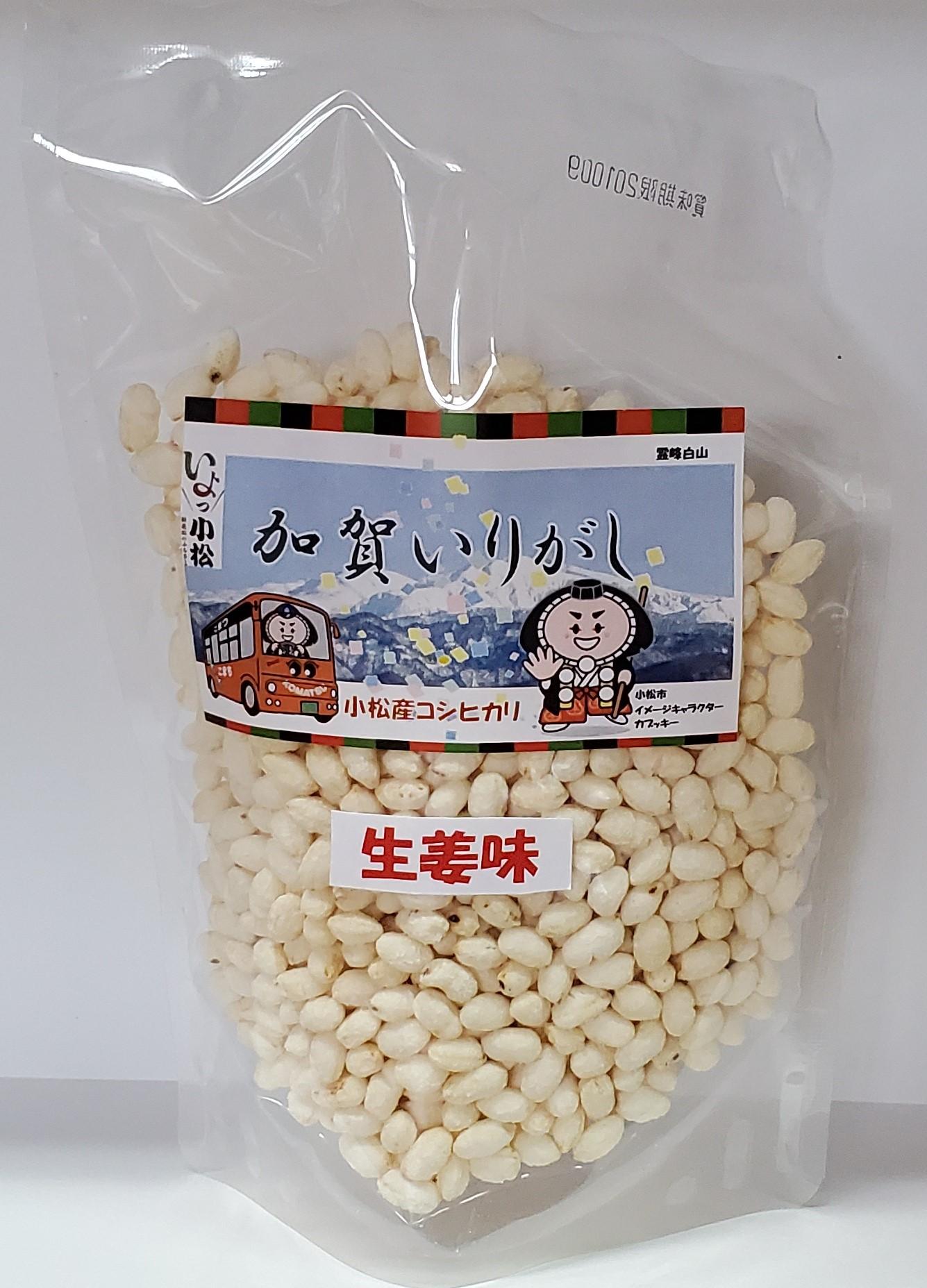 生姜味(40g)…ピリッと生姜がきいた味わい。
