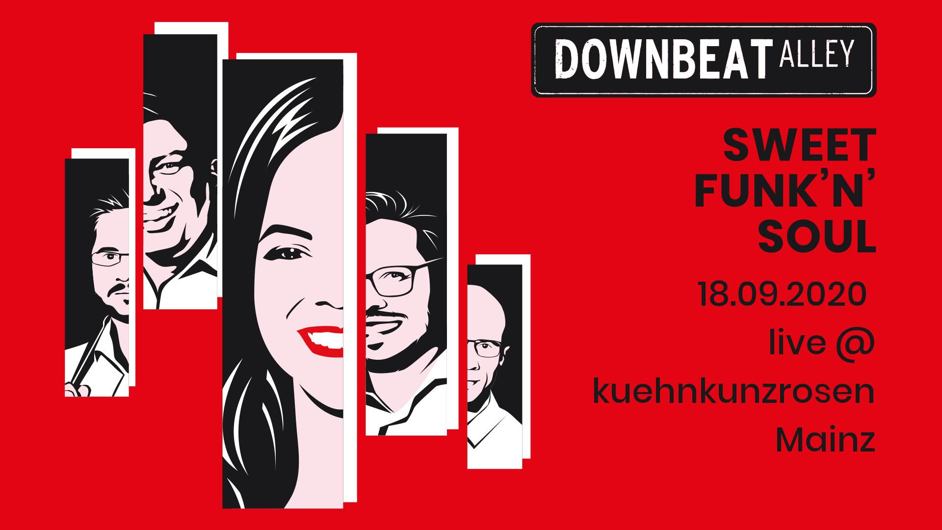 Downbeat Alley am 18.09. wieder live im KKR!