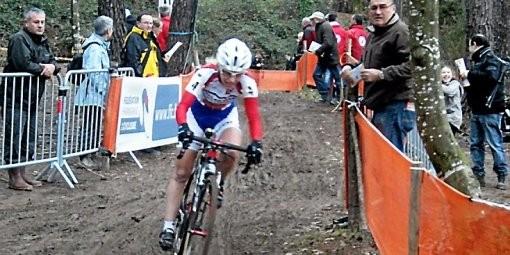 Championnat d'Europe Cyclo-cross à Ipswich en Angleterre. 4ème place !!!