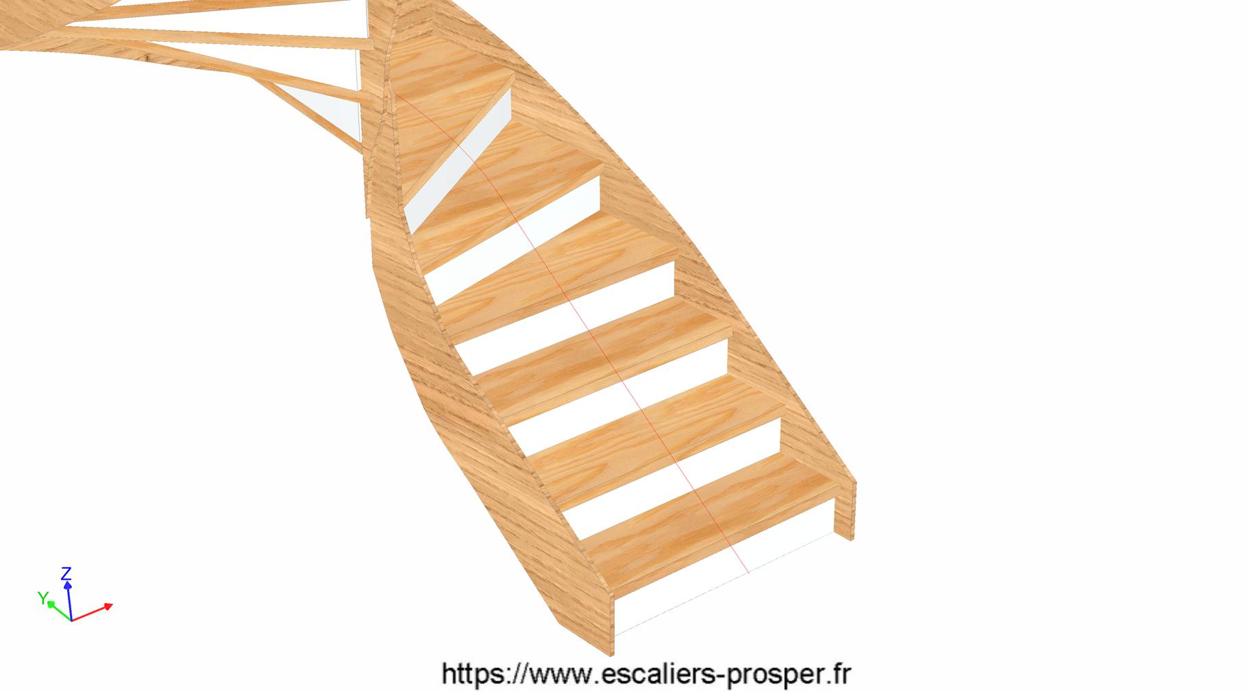 habillage bois d 39 un escalier b ton e15 102 escaliers prosper sp cialiste de la conception. Black Bedroom Furniture Sets. Home Design Ideas