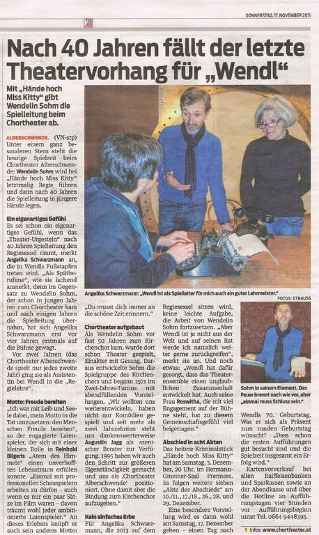 Heimat, 17.11.2011
