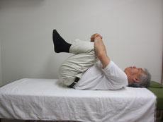 腰椎のストレッチ