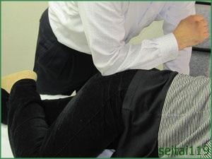 小臀筋トリガーポイント治療