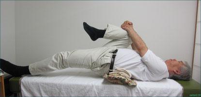 股関節屈曲ストレッチ
