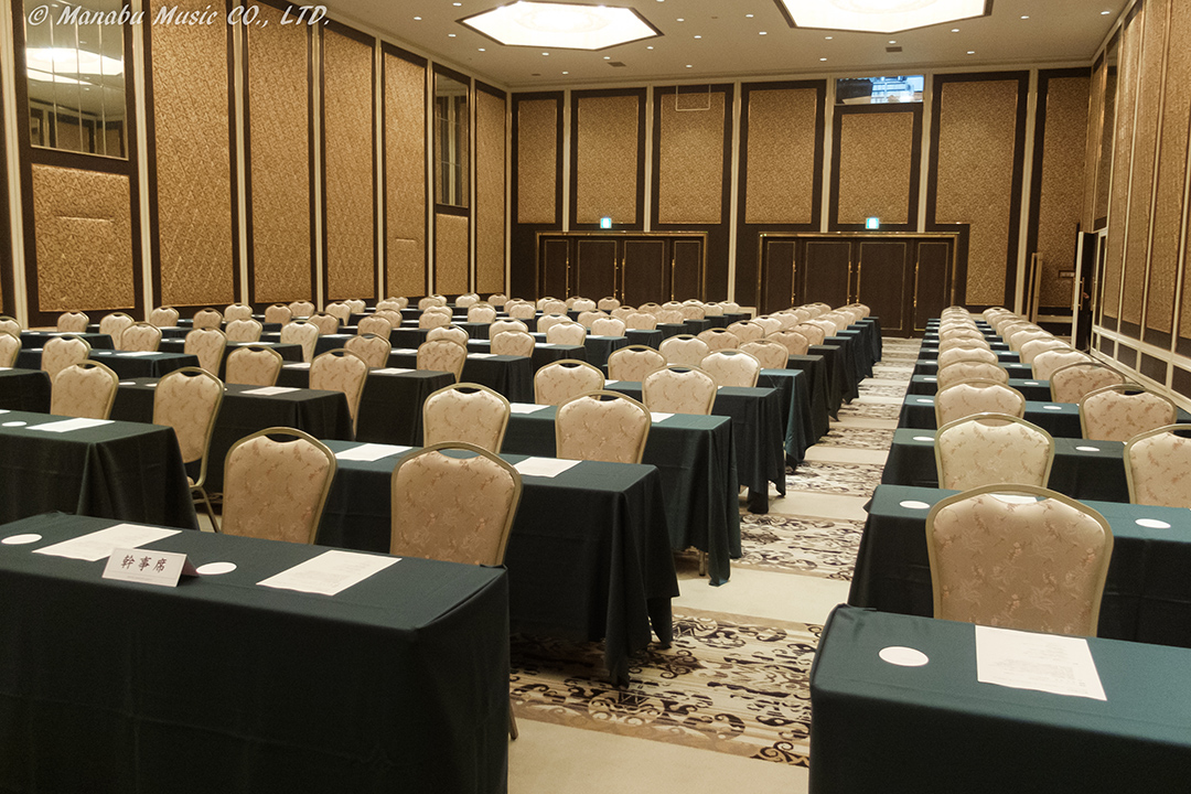 会場には100名様分の席が用意されていましたが、講演開始後には約9割の席にご着席いただきました。