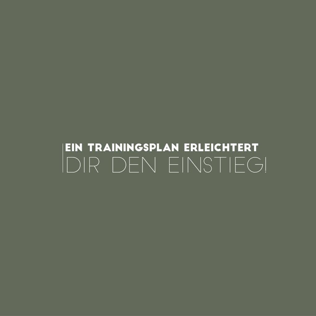 Trainingspläne – Warum du mit einem Plan trainieren solltest