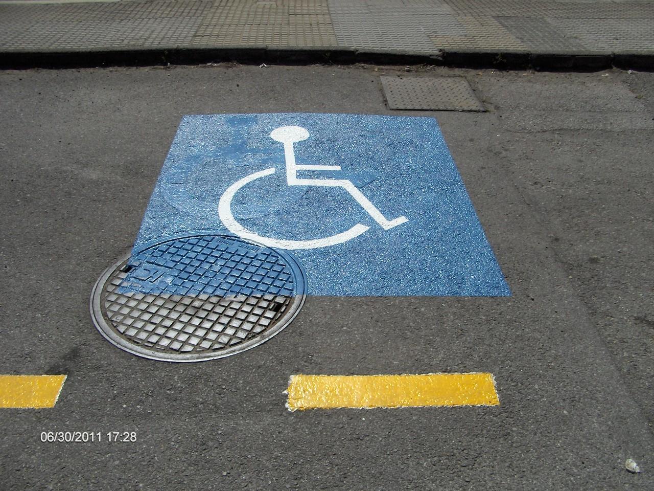 Simbolo Discapacitados
