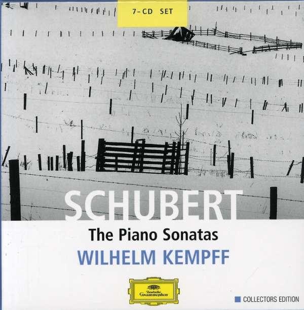 Franz Schubert (1797-1828) Klaviersonaten (Ges.-Aufn.) Wilhelm Kempff 7 CDs      Sonaten D. 157, 279, 459, 537, 557, 566, 568, 575, 625, 664, 784, 840, 845, 850, 894, 958-960