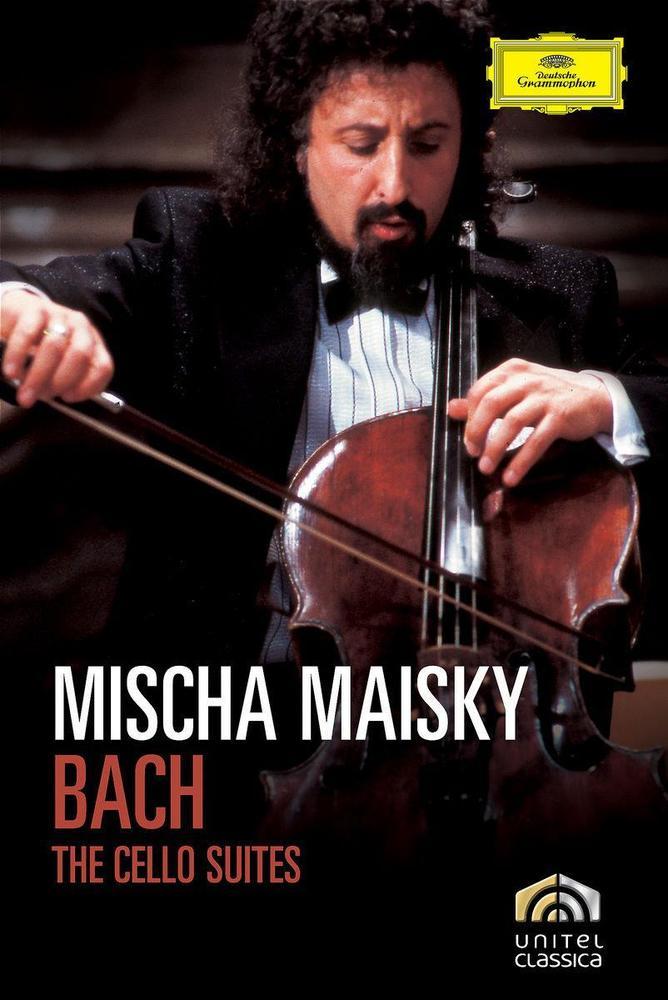 """Johann Sebastian Bach (1685-1750) Mischa Maisky Cellosuiten BWV 1007-1012 (2DVD)  Rezensionen E. Bezold in Stereo 4 / 00: """"Es fasziniert der vitale Zugriff, die rhythmisch pointierte, tänzerisch elegante, romantisch-virtuose ..."""