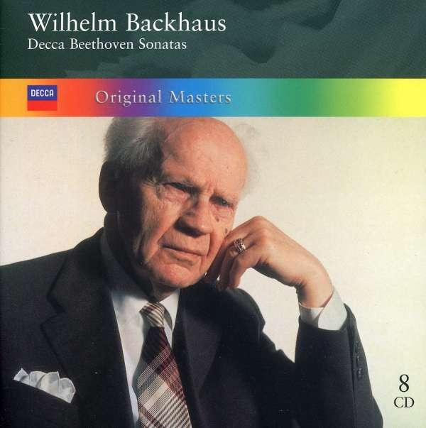Ludwig van Beethoven (1770-1827)  Klaviersonaten Nr.1-32 Wilhelm Backhaus 8 CDs