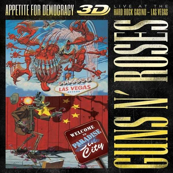 Appetite For Democracy: Live 2012 (Limited Boxset) 1 Blu-ray Disc, 2 CDs